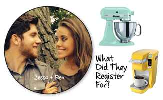 Jessa Duggar Wedding Date Registry