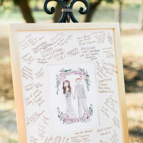 Framed And Matted Guestbook