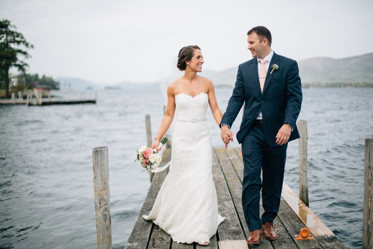 Katherine DiNicola (26 and a physical therapist) and Jonathan Gorom (31 and a financial adviser) knew from the get-go that they wanted to get married