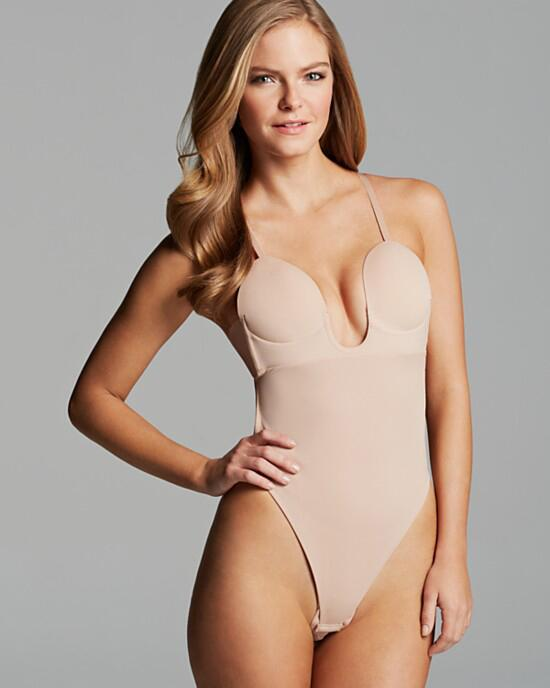 fashion forms deep plunge bodysuit