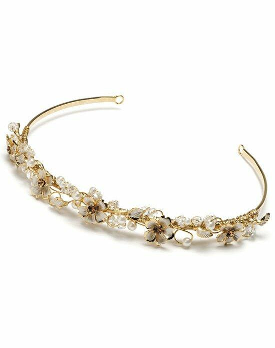USABride Melody Gold Headband TI-205-G Wedding Headbands photo