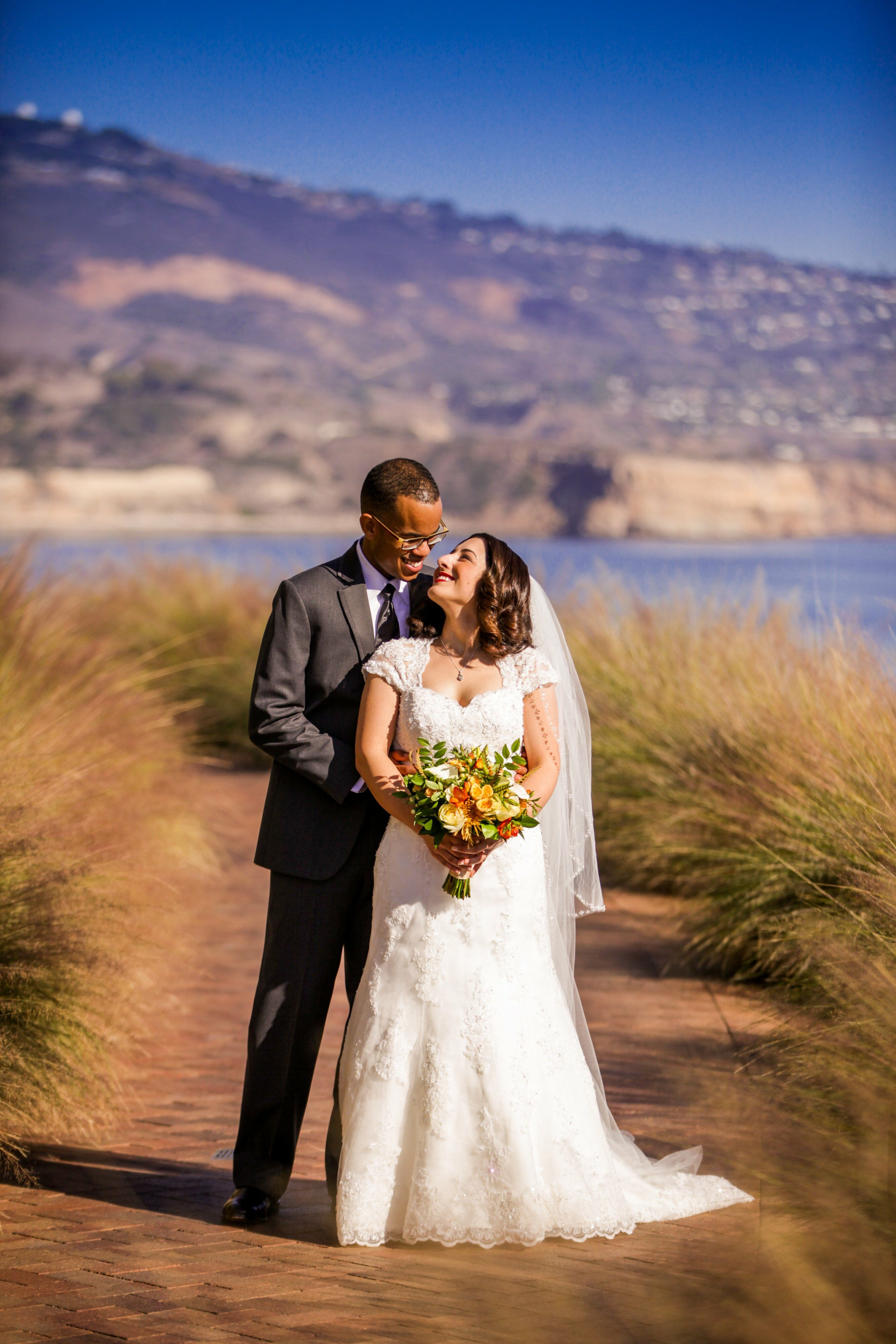 A Betty Reckas Cultural Center Wedding In Long Beach
