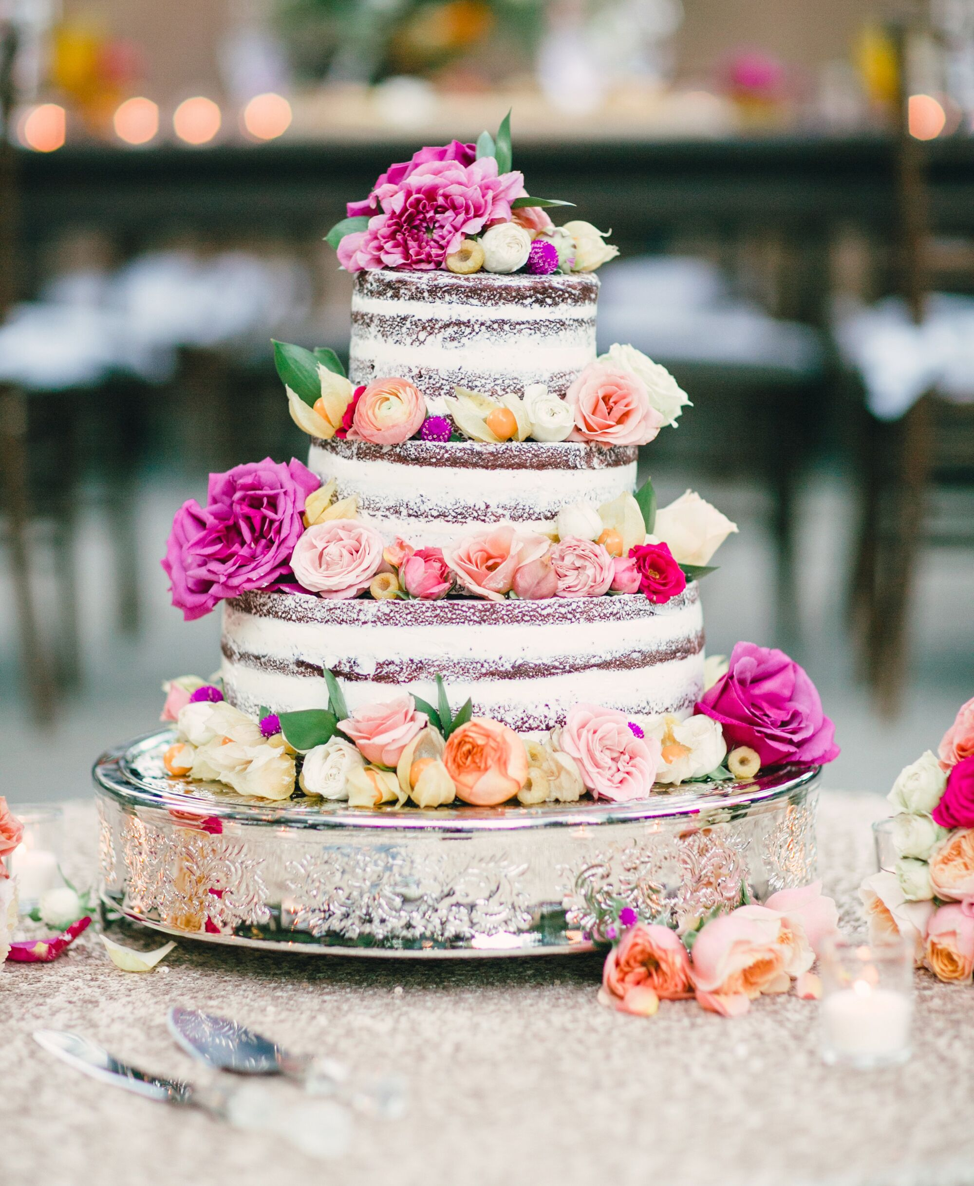 Sweet And Simple Naked Wedding Cakes: 10 Naked Cakes You Have To See