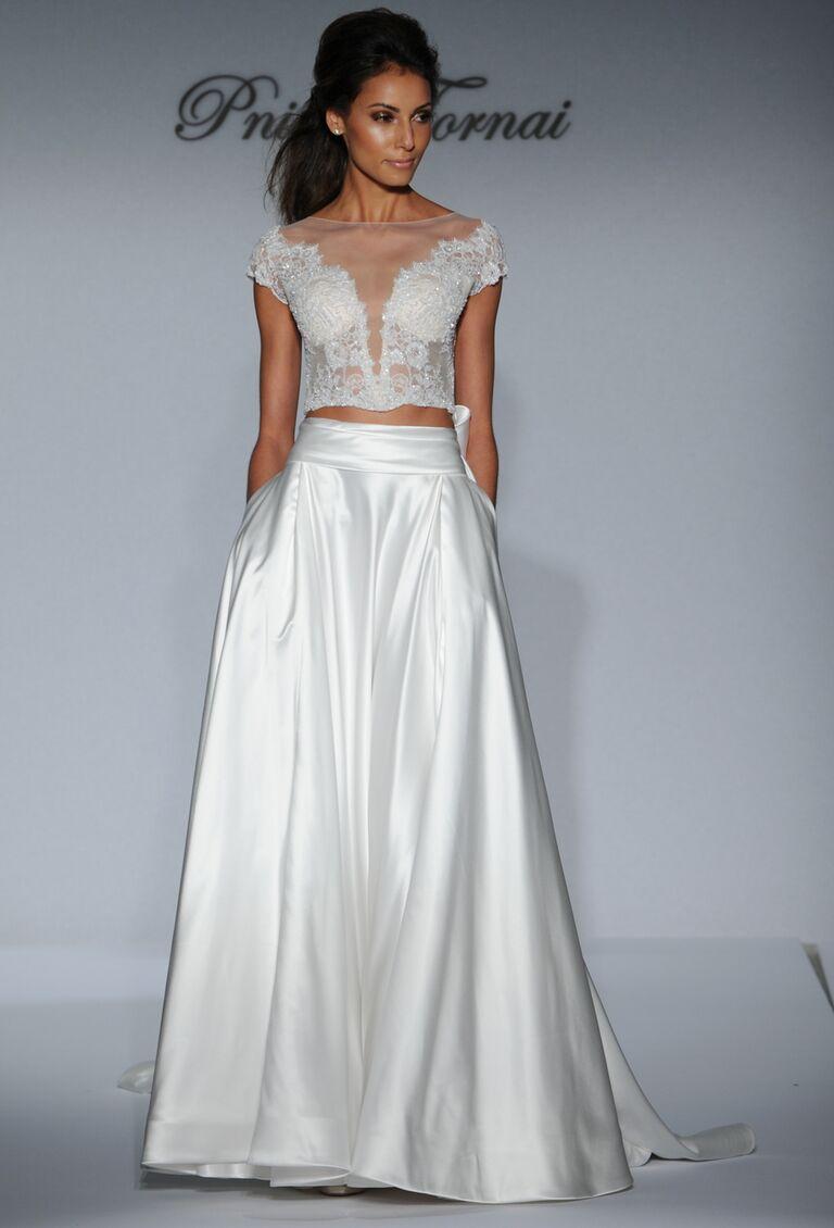 pnina tornai fall 2016 collection: wedding dress photos