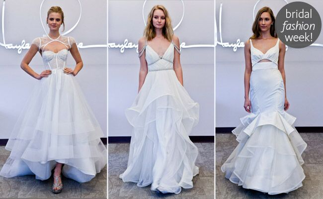 Hayley Paige Fall 2014 Wedding Dresses