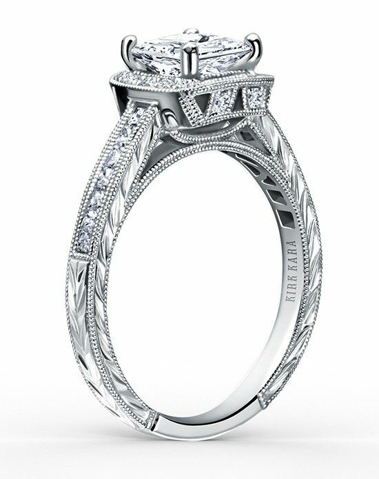Kirk Kara Carmella Collection SS6996-R Engagement Ring photo