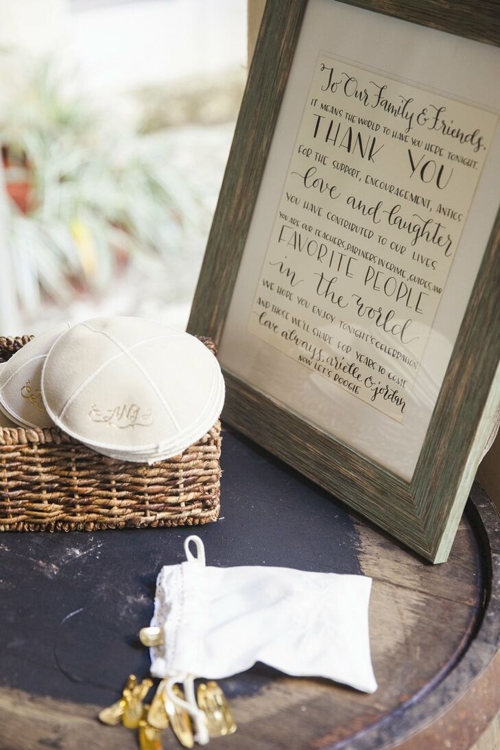 Kippah Basket. Kippahs For Wedding. Home Design Ideas