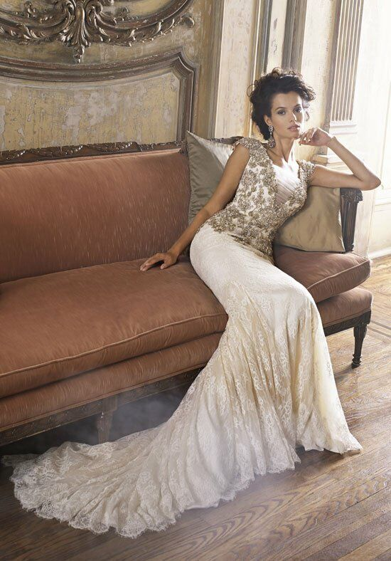 Badgley Mischka Bride Ginger Wedding Dress photo