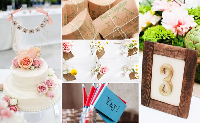 5 Clever DIY Supplies That Make These Wedding Projects Possible