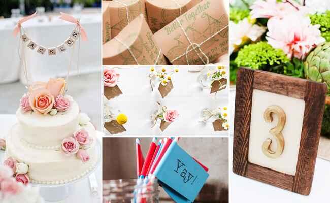 5 clever DIY supplies that make these wedding projects possible / TheKnot.com