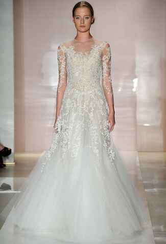 Reem Acra//Photo by MCV Photo//The Knot