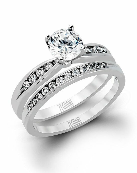 Zeghani ZR415 Engagement Ring photo