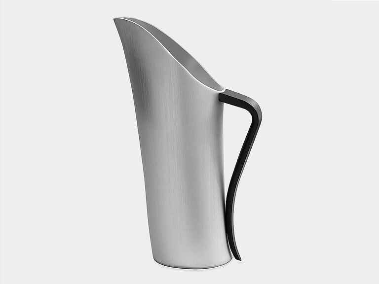 Aluminum pitcher 10th anniversary gift