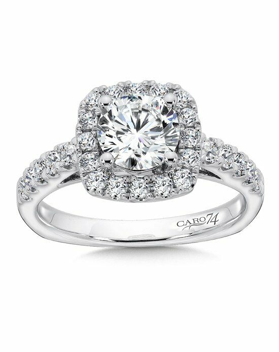 Caro 74 CR157W Engagement Ring photo