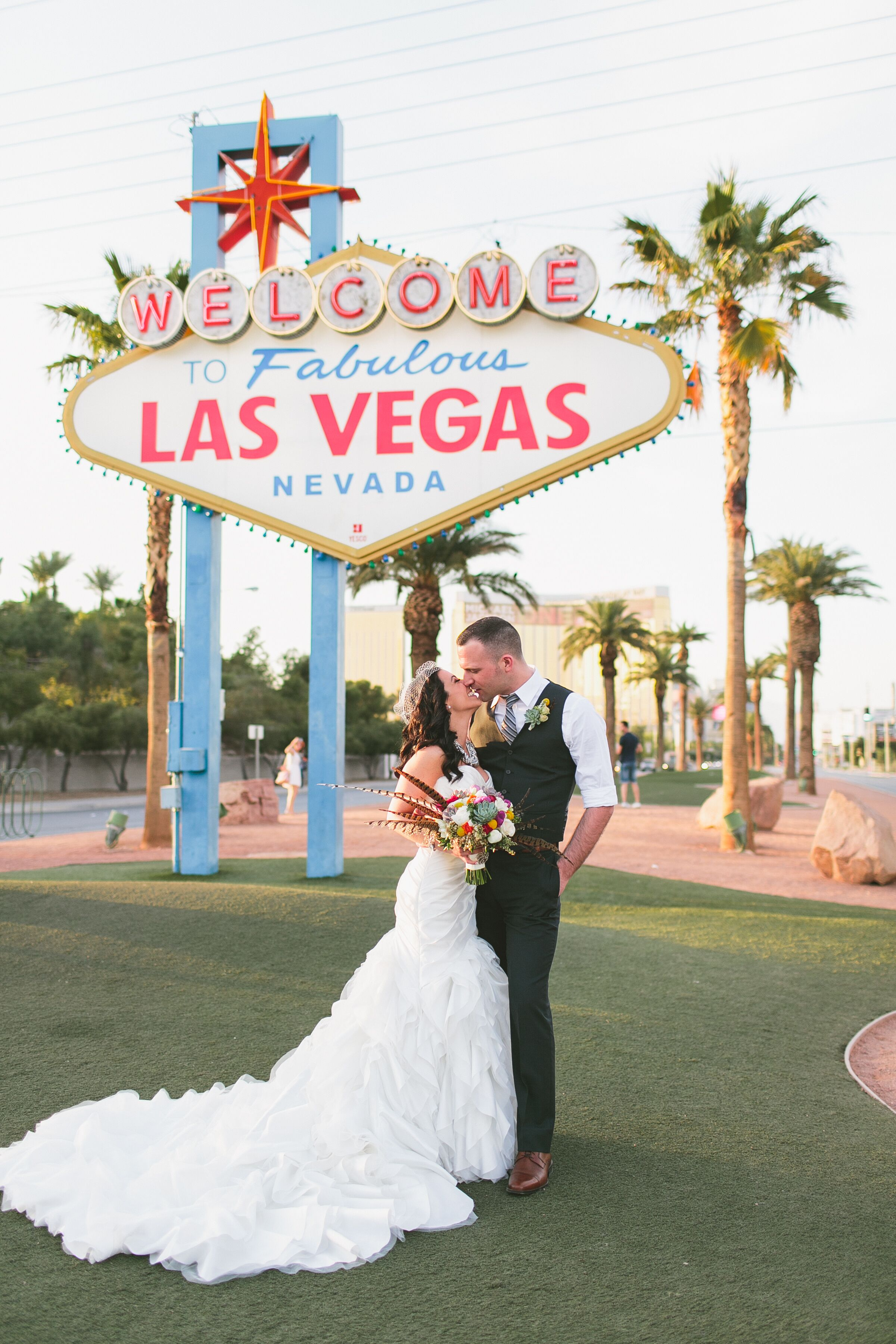 A glamorous vintage inspired destination wedding at for Wedding in las vegas nv