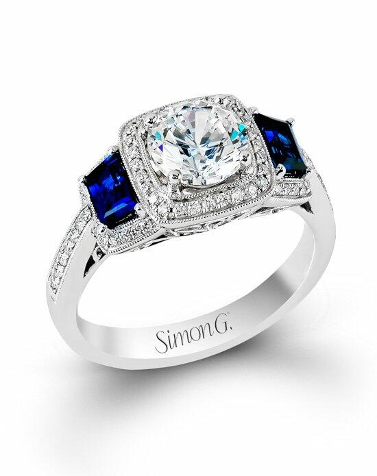 Simon G. Jewelry MR2247-A Engagement Ring photo