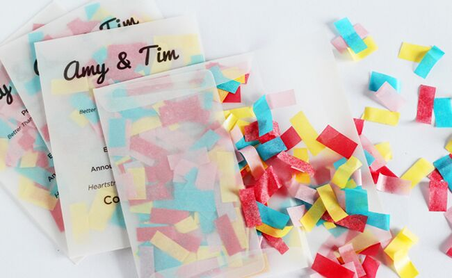 Make This DIY Confetti Program!