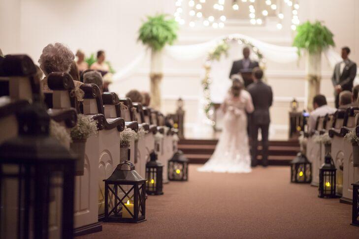 Wedding Ceremony Decorations Lanterns : Lantern aisle decorations at the ceremony dripping