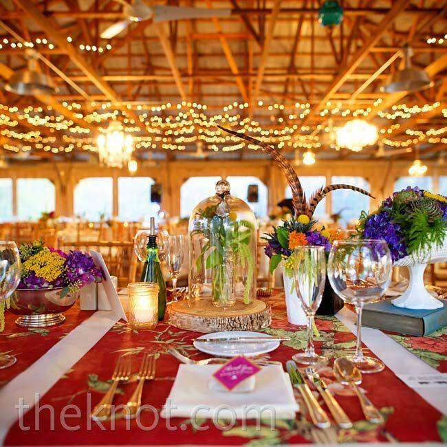 Red Wedding Ideas Reception: Red Wedding Reception Decor