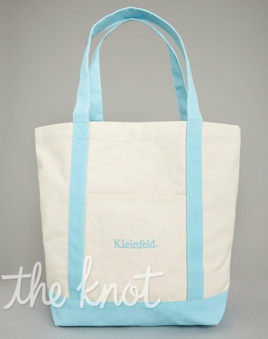 Kleinfeld Gift Shop TOTE_MD_BLU Wedding Accessory photo