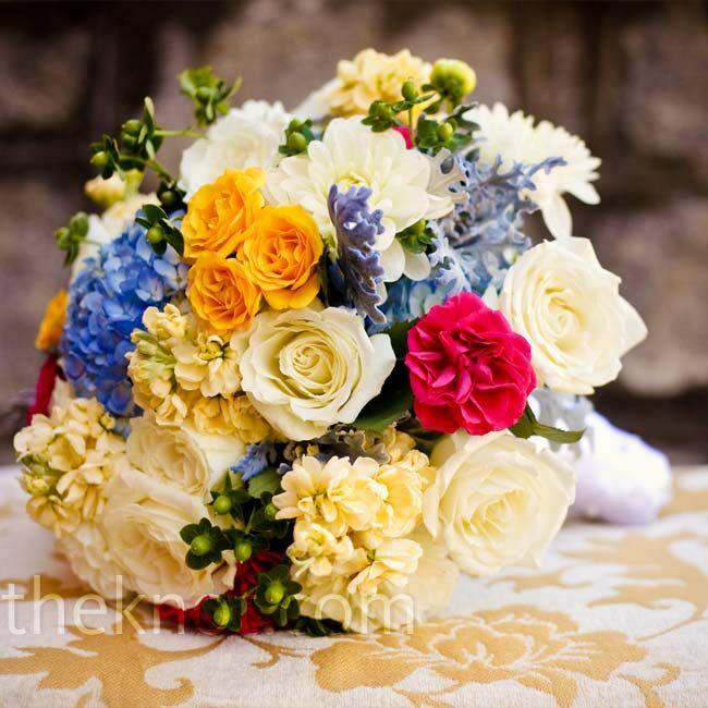 Multi Colored Wedding Bouquet
