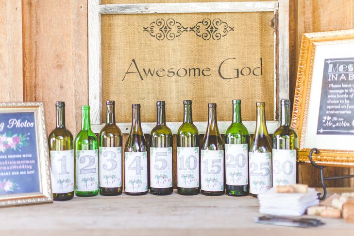 Capsule Bottles Wine Bottle Time Capsule Guest