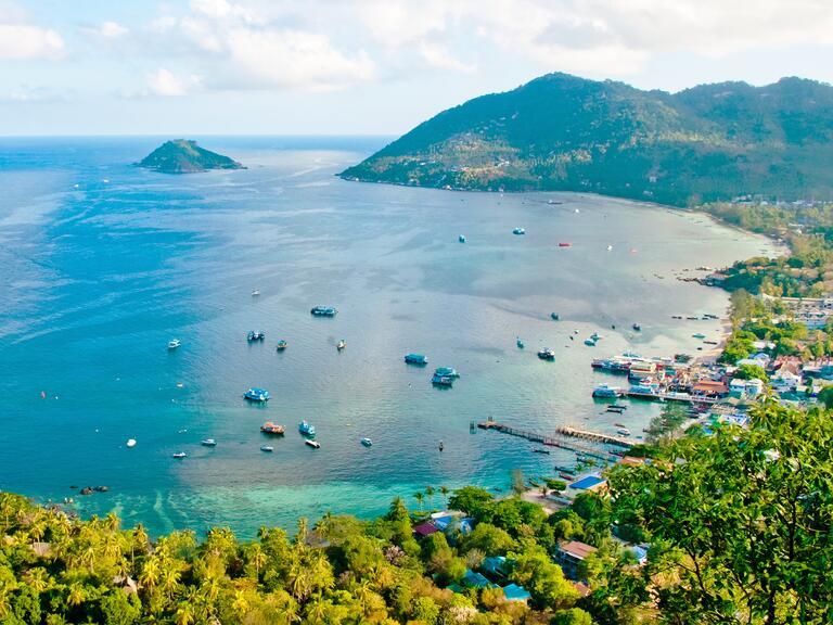 Koh Tao, Thailand honeymoon destination with best beach