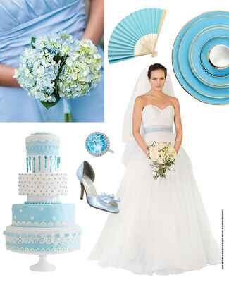 7 Light Blue Wedding Ideas by The Knot