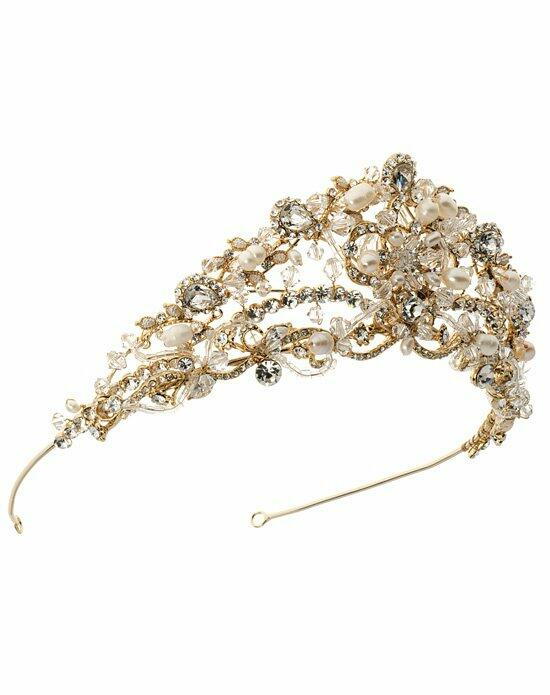 USABride Evangeline Gold Tiara TI-219-G Wedding Tiaras photo