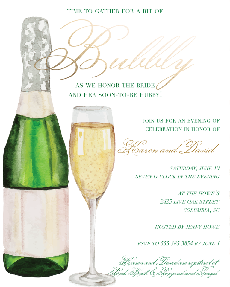 Cute Wedding Invitation Wording Samples: Bridal Shower Invitation Wording: Ideas And Etiquette