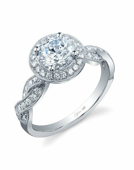 Sylvie Collection SY897 Engagement Ring photo