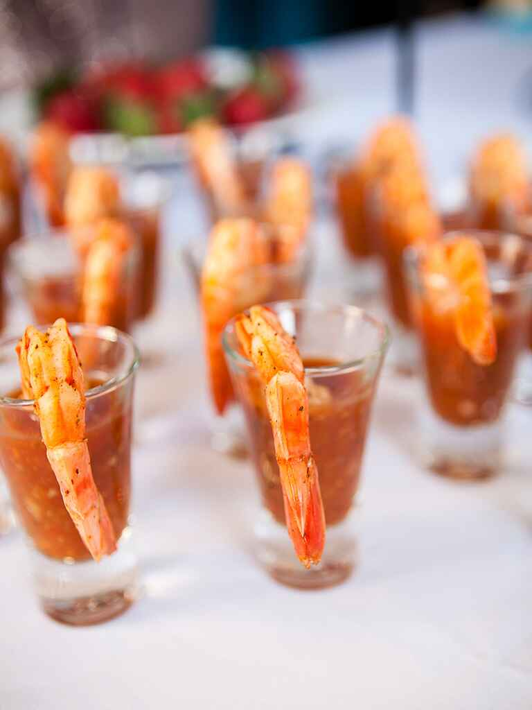 """These creative wedding appetizer ideas will make your cocktail hour the highlight of the night — except for that moment you said """"I do,"""" of course. The most creative hors d'oeuvres and."""