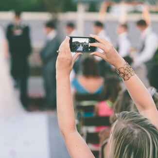 Can I Ban Phones and Cameras From My Wedding | Blog.TheKnot.com