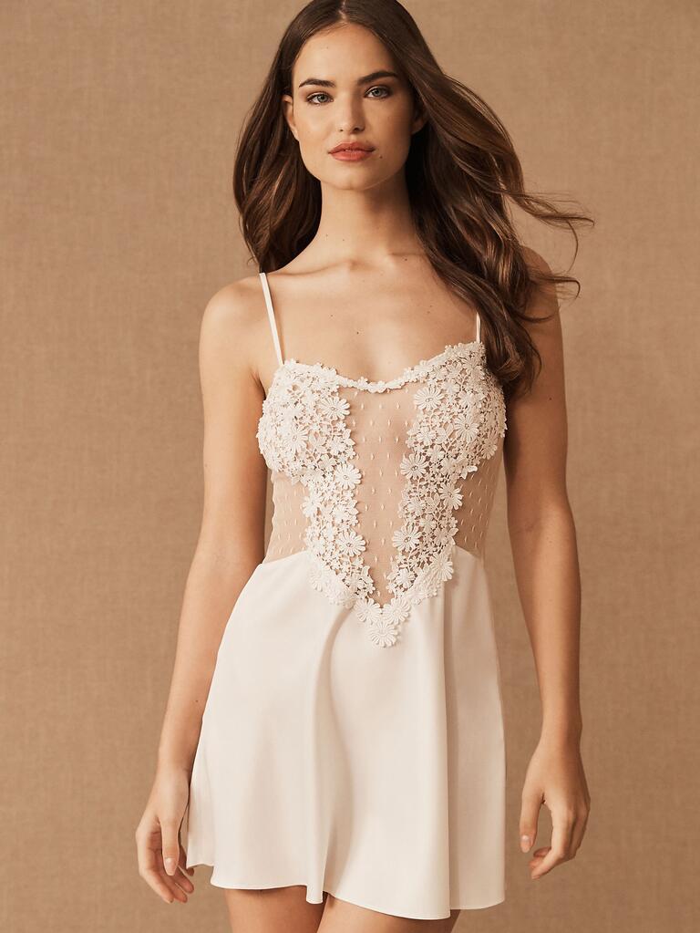 Regalo addio al nubilato in lingerie per la sposa