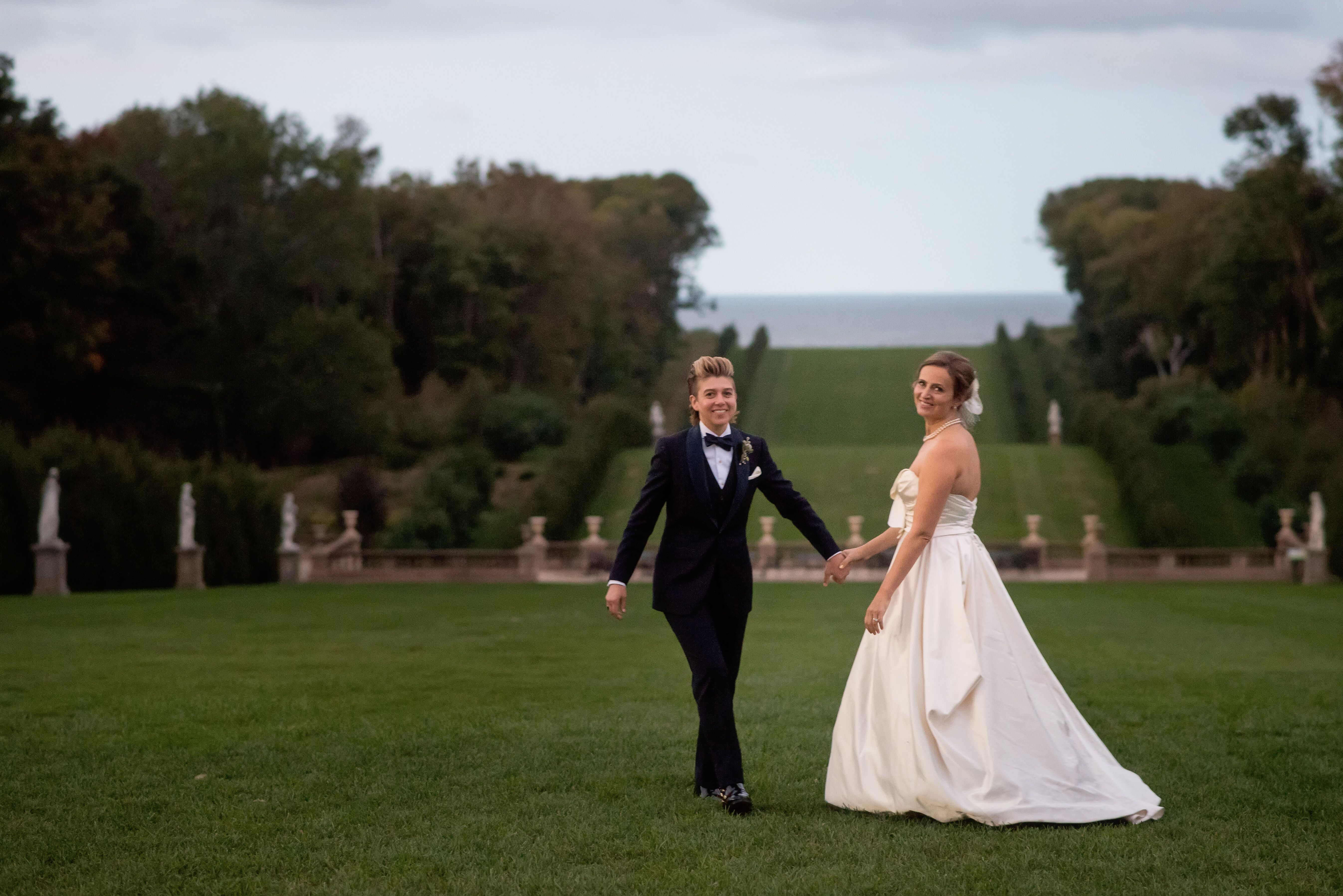 Wedding Invitations Castle Hill: A Whimsical, Formal Wedding At Castle Hill At Crane Estate