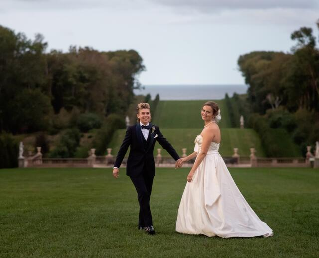 A Whimsical Formal Wedding At Castle Hill Crane Estate In Ipswich Massachusetts