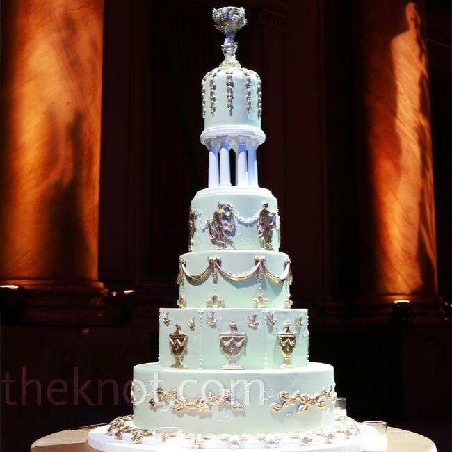 Real Greek Weddings: A Grecian-Themed Wedding In New York City, NY