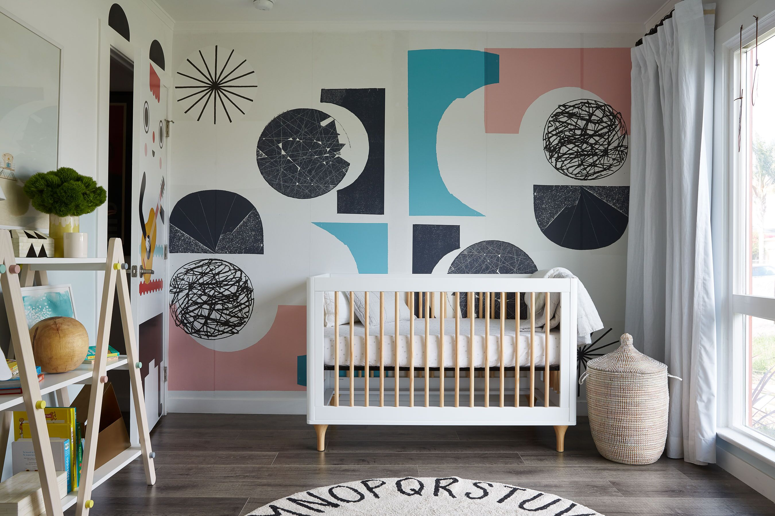 A Modern and Playful Nursery Transformation