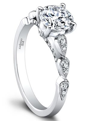 ring ins image with rings center the shows cut a band diamonds c this diamond brilliant detailed setting verragio engagement round