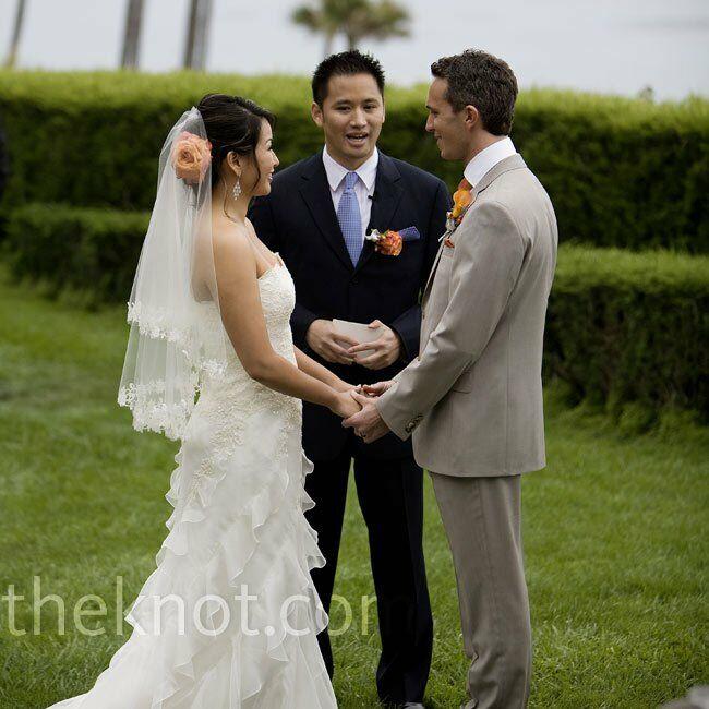 Night Beach Wedding Ceremony Ideas: Cypress Sea Cove Wedding Ceremony
