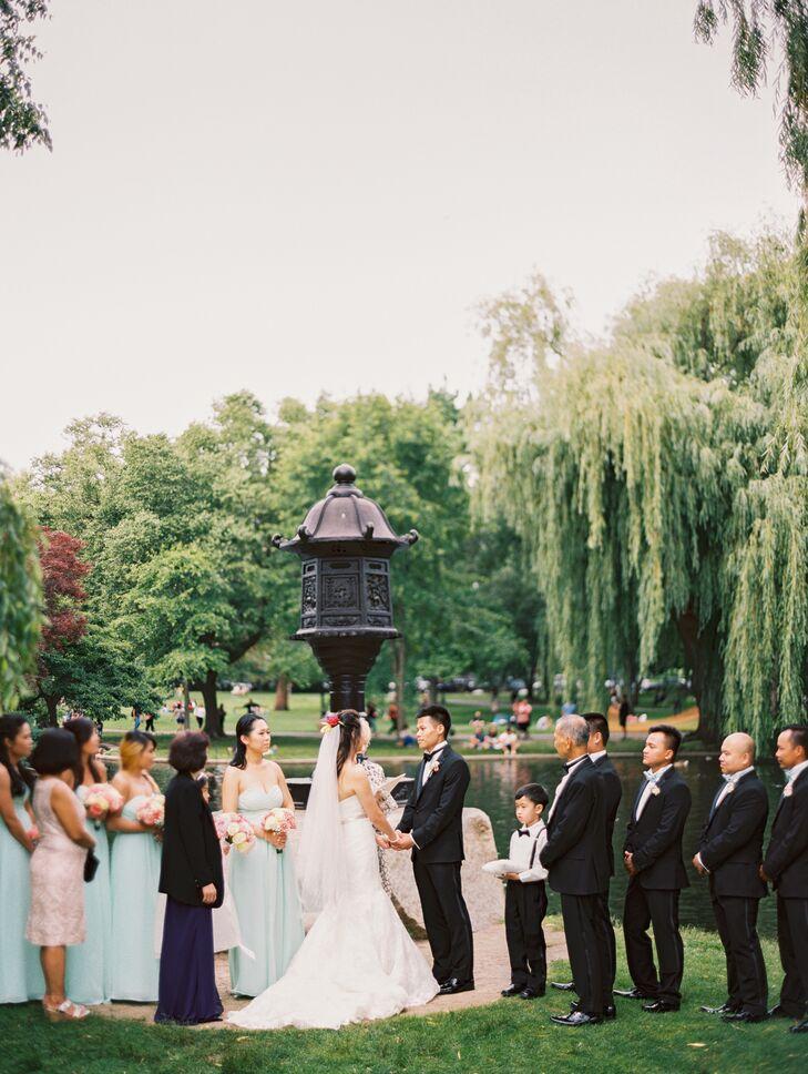 Boston public garden wedding ceremony junglespirit Image collections