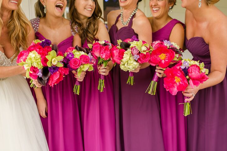 A Glamorous Jewel Tone Wedding At Woman S Club Of
