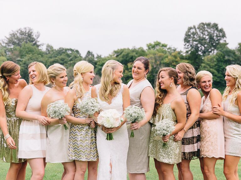 Wedding Party: How Many Bridesmaids And Groomsmen Can We Have?