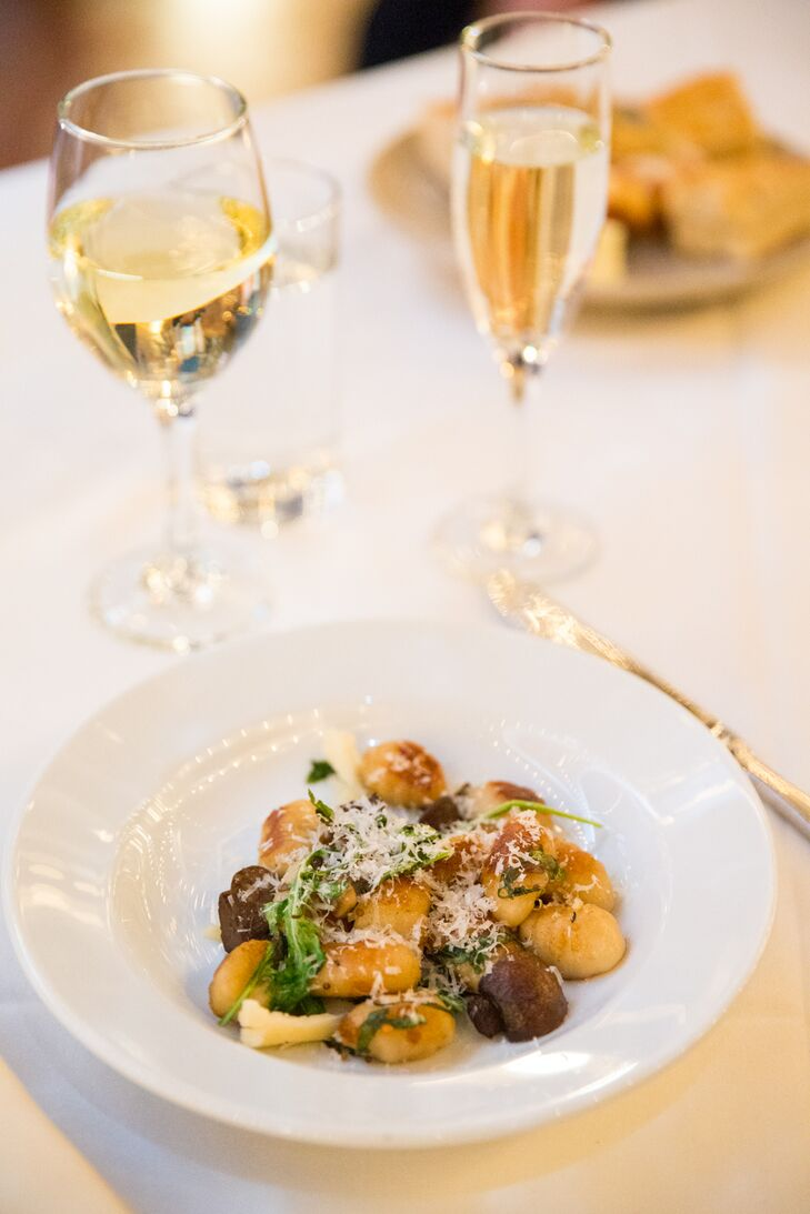 Gnocchi With Sauteed Mushrooms