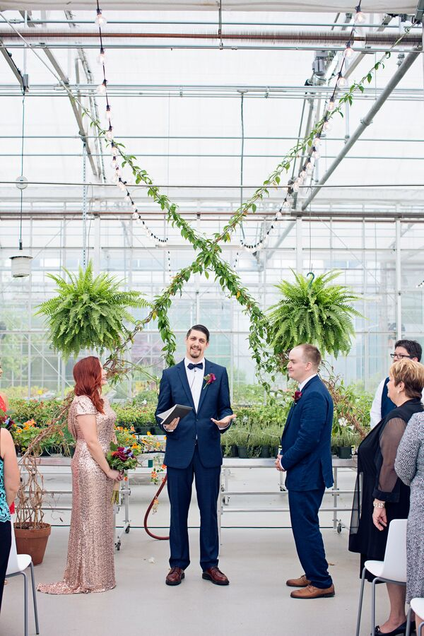 Downtown Market Greenhouse Ceremony