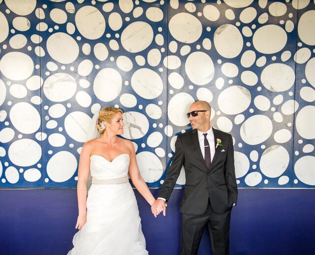 A Modern Purple Wedding At The Boca Beach Club In Raton Florida