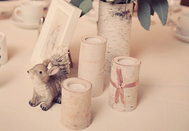 Check Out This Sweet Wedding With Peter Rabbit Table Markers!