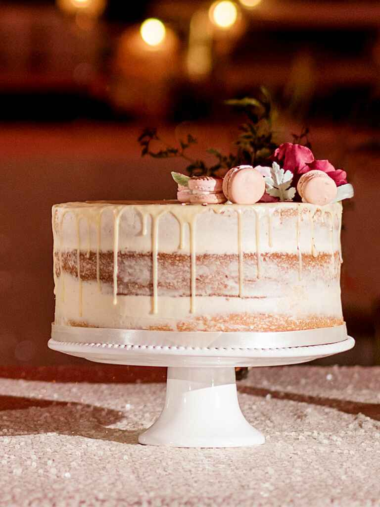Simple  Tier Wedding Cake Ideas