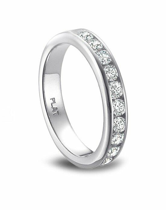 Platinum Engagement and Wedding Ring Must-Haves Vibhor Platinum and Diamond Eternity Band Wedding Ring photo