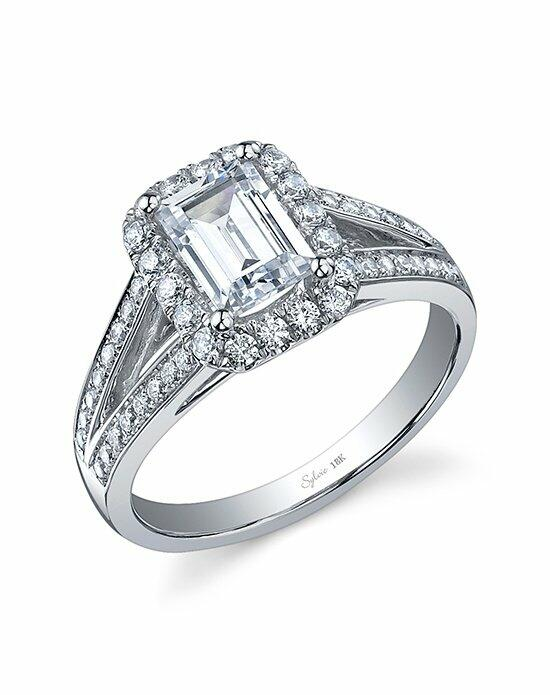 Sylvie Collection SY827 Engagement Ring photo